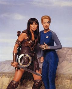 xena, seven of nine