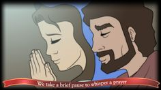 We take a brief pause to whisper a prayer
