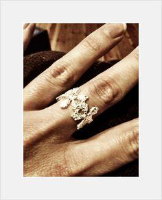 Kalevala snowflake ring