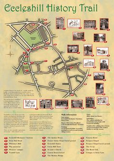 Eccleshill History Trail - This is great! Great Walks, East Yorkshire, Bradford, Memories, History, Britain, Trail, Places, Beautiful