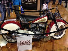 American Pickers 1940 Indian Chief Chicago convention
