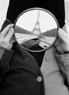 Mirror Eiffel | From a unique collection of black and white photography at https://www.1stdibs.com/art/photography/black-white-photography/