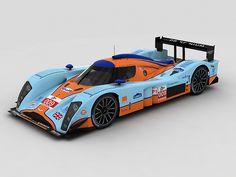 Aston Martin Racing #009 Aston Martin LMP1 LMS 2010
