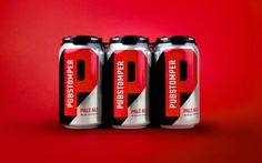 Pubstomper Brewing Co. on Packaging of the World - Creative Package Design Gallery