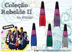 Coleção Rebelde II by Impala Veja aqui: http://wp.me/p1x69g-15J