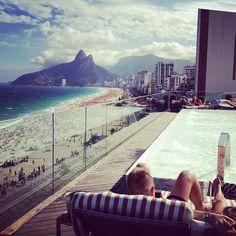 Hotel Fasano - Rio de Janeiro - por Lala Noleto