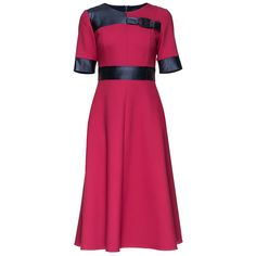 #CuratedPick @ TheArtOfLiving.Earth : 'Cherry Sweet Ele... http://theartofliving.earth/products/cherry-sweet-elegance-short-sleeve-midi-wool-dress-decorated-with-eco-leather?utm_campaign=social_autopilot&utm_source=pin&utm_medium=pin