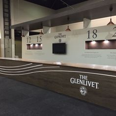 The Glenlivet bar at Whiskey Live