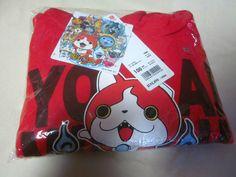 New Uniqlo Japan Yokai Watch Parka Sweat 100cm Jibanyan Long Sleeve Kids Boys FS #Uniqlo