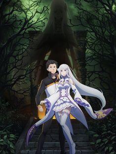 Looking for information on the anime Re:Zero kara Hajimeru Isekai Seikatsu Season? Find out more with MyAnimeList, the world's most active online anime and manga community and database. Second season of Re:Zero kara Hajimeru Isekai Seikatsu. Gothic Anime, Otaku Anime, Manga Anime, Anime Art, Angel Manga, Light Novel, Radukai Kishi No Cavalry, Katsura Kotonoha, Kawaii Anime