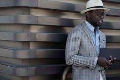 Comienza El Pitti Uomo Y El Street Style Ha Hablado El Sombrero Tipo Panama Es El Accesorio Definitivo 4