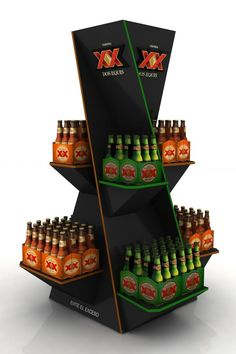 Dos Eques Point Of Purchase - Daniel Coello Pos Display, Bottle Display, Wine Display, Display Design, Booth Design, Display Shelves, Product Display, Display Stands, Banner Design