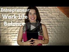 Entrepreneur: Work Life Balance | Katie Mazzocco Entrepreneur Productivi...