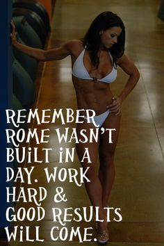 Rome wasn't built in a day. You also didn't didn't gain weight over night. Weight loss takes time. Keep going, you'll get the results you work for! http://www.topwomensrunningshoes.com/top-10-selling-womens-running-shoes-october-2014 @toprunningshoes
