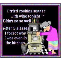 Blending my love of cooking and wine.  In this case, the wine wins.  :-)