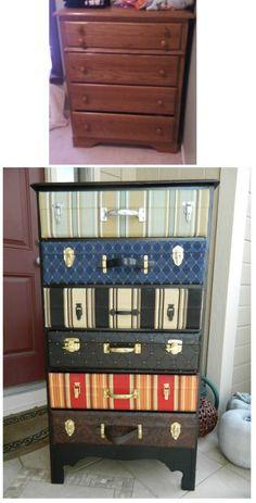 Suitcase Dresser Tutorial