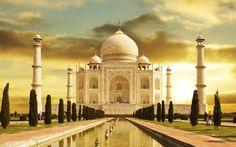 Papel de Parede Taj Mahal India