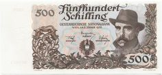 500 Schilling 1953 (Wagner-Jauregg) Back To The 50s, Central Europe, Retro, Vienna, Austria, History, 1950s, Coins, Hearts