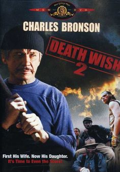 Charles Bronson returns with a vengeance (quite literally) in this sequel to the popular crime thriller DEATH WISH. Bronson reprises his role as vigilante Paul Kersey, whose family is once again victi