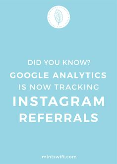 The other day, I saw something in my Google Analytics dashboard in the real-time mode – someone was visiting my blog post from Instagram. Turns out that Google Analytics is now tracking Instagram referrals! It's a great news for those of you who uses Instagram for business purposes and to share your latest blog post with your Instagram audience. Being able to track to track user conversions from Instagram to website or blog is important for any business owner or blogger. Click trough to read…