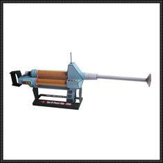 Star Trek - Type 3 Phaser Rifle Free Paper Model Download - http://www.papercraftsquare.com/star-trek-type-3-phaser-rifle-free-paper-model-download.html