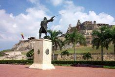 Cartagena, Colombia.  http://www.worldheritagesite.org/sites/cartagena.html