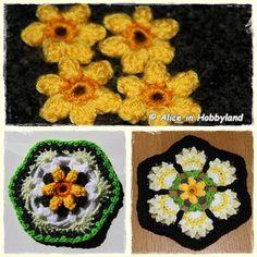 Inmiddels zijn er al 4 patronen online gekomen van de Frida's Flower CAL 2016. Door andere dingen die voorgingen, met name het proefha...