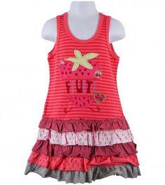 juicy fruit fast stripe dress in jolly
