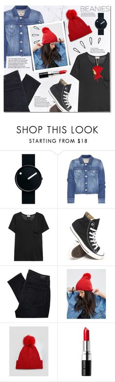 """Bad Hair Day: Beanies"" by anna-anica ❤ liked on Polyvore featuring Rosendahl, True Religion, Yves Saint Laurent, Converse, Paige Denim, ASOS, Old Navy, Bobbi Brown Cosmetics and Les Néréides"