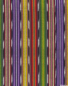 """Guatemalan Yarn-Dye - Rhythmic Ikat Stripe - Multi - 34"""" WIDE Dussehra Greetings, Kitchen Redo, Fabric Online, Ikat, Bollywood, Quilts, Kitchen Remodeling, Quilt Sets, Log Cabin Quilts"""