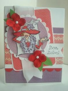 Red Hat Ladies Birthday Cards | Visit amyscreativepursuits.blogspot.com