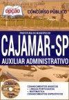 Concurso Prefeitura do Município de Cajamar /SP  AUXILIAR ADMINISTRATIVO