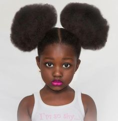 Afro Puffs - mine were never this spectacular.