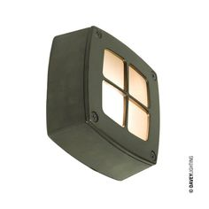 Wall / Ceiling Light With Guard 8140, by England's Davey Lighting #brasswalllight