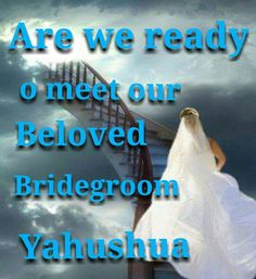 Are we ready?? I am ... Even so come quickly Lord Jesus ...