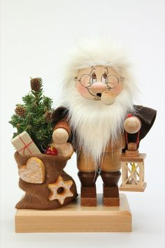 Gnome Santa Claus with Bag by Christian Ulbricht