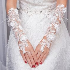 Inexpensive Homecoming Dresses, Ty E Amy, Lace Weddings, Wedding Dresses, Sequin Wedding, Wedding Gloves, Lace Gloves, Bride Accessories, White Beads