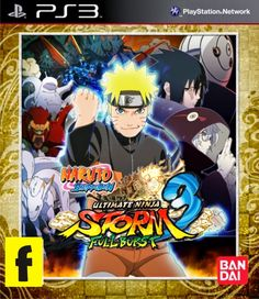 Naruto Shippuden Ultimate Ninja Storm 3 Full Burst | PS3 Games ISO Download
