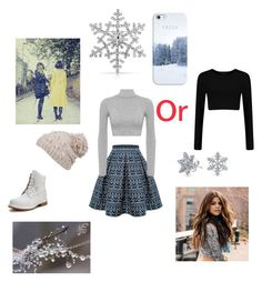 """""""Winter"""" by rudycastaneda-rc on Polyvore featuring Bling Jewelry, prAna, Casetify, Rumour London, Timberland and WearAll"""