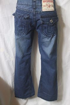 VINTAGE MENS TRUE RELIGION jeans BOOT CUT w30 L30 made in USA f-190…