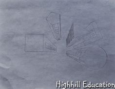 Perspective Drawing from a Bird's Eye View - for Kids