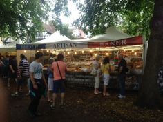 French Artisan Baker ... Friday 18th - Sunday 20th July 2014  Market Place Europe returned to the Bedford River Festival for another fantastic event with a great atmosphere, crowds and of course traders offering a huge variety of food and crafts from around the world!
