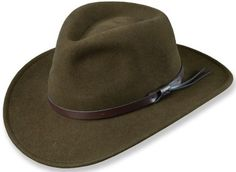 My dad had a hat like this, I got drunk, lost the feather out of it and smashed the hat all to shit. Sorry Dad :/