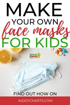 Do you want to learn how to make your own face masks for kids? Click through to the post to see how to make them together! Make sure you Pin this post for later too! #facemasks #diyfacemask #covid19 #coronavirus #facemask #masks #quarantine #kids #kidsactivities #parentingtips