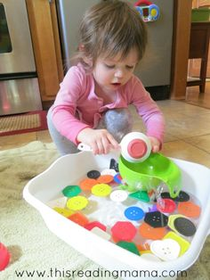water play is a favorite toddler activity