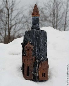 Подарки для мужчин, ручной работы. Ярмарка Мастеров - ручная работа. Купить Замок в горах. Handmade. Подарок мужчине, подарок, тонировка