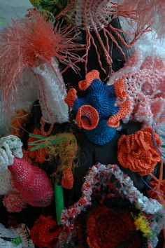 Hyperbolic Crochet Coral Reef, Science Gallery, Trinity College Dublin, March 2010 | Flickr - Photo Sharing!