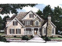Camden House Plan A Modest Four Square Style Cottage