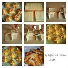 Çiçek Milföy Böreği Yapımı