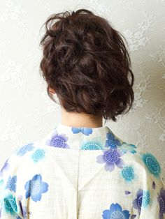 ナチュラル&キュートな浴衣アレンジ-HAIR DIMENSION 1-夏到来!浴衣 Style-Cendrillon
